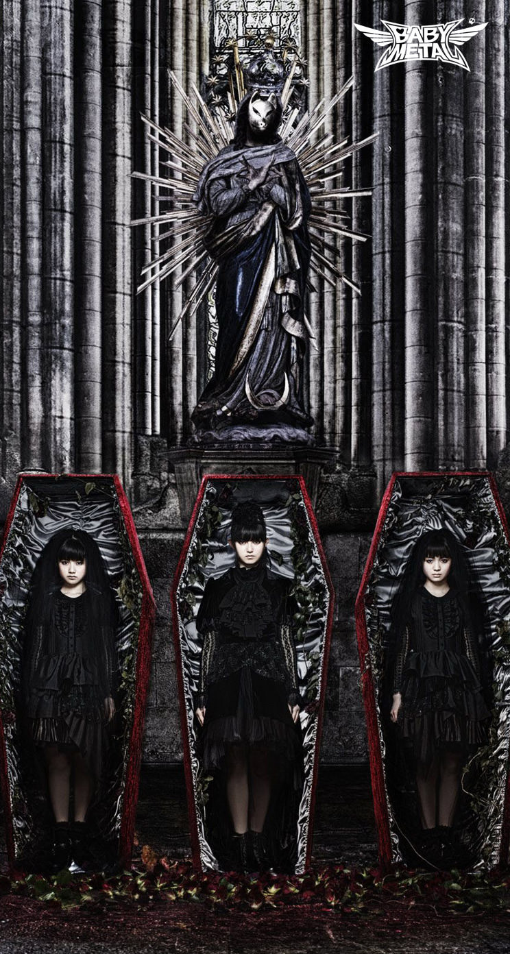 Cool Wallpapers For Iphone Girls 【アイドル】babymetal(ベビーメタル) Iphone5s壁紙 待受画像ギャラリー