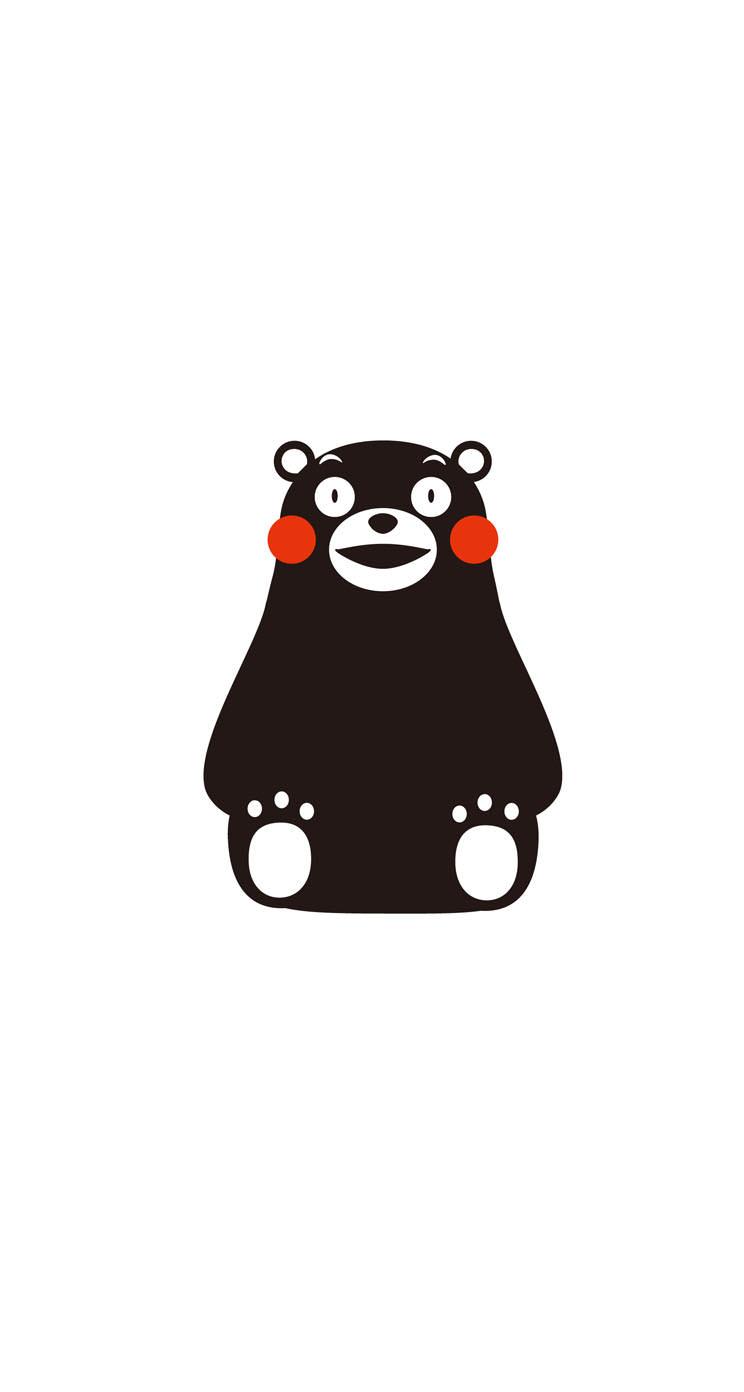 Cute Cartoon Wallpaper Iphone くまモン Iphone5s 壁紙2 Iphone5s壁紙 待受画像ギャラリー