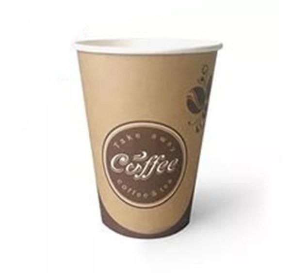 "Бумажный стакан 330 мл ""Кофе, Чай"" 40 шт"