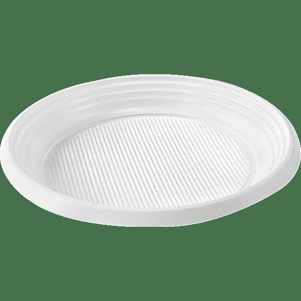 Тарелка Ø205мм белая 100 шт