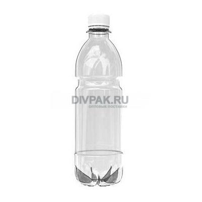 Бутылка ПЭТ 0.5 л 50 шт