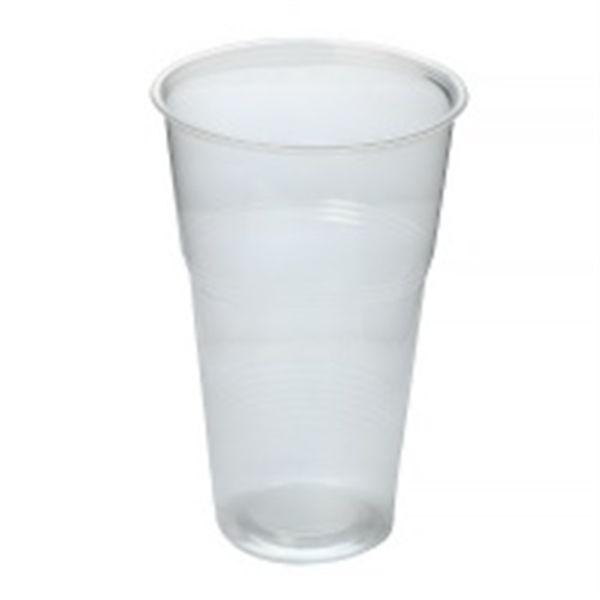 Одноразовый стакан 500 мл эконом 50 шт