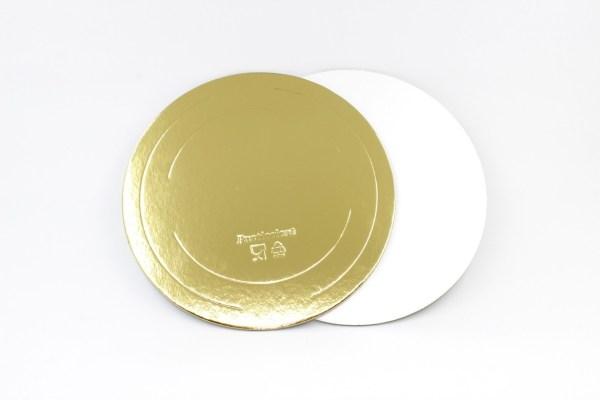 ДоЭко Подложка 1,5мм д160мм золото/жемчуг GWD (50шт)