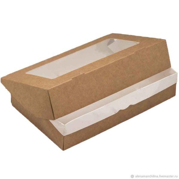 ДоЭко контейнер универ TABOX 1450 PRO 260х150х40мм с окном (125шт)