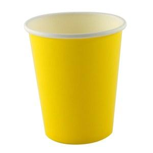Бум стакан Л-ПАК 0,165л диам 70мм ГН Желтый (2000шт)