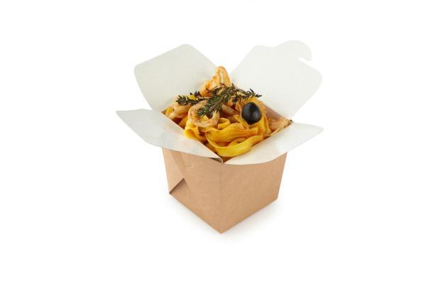 ДоЭко контейнер для лапши ECO Noodles 460мл gl 102х89х102мм (560шт)