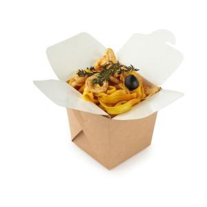 ДоЭко контейнер для лапши ECO Noodles 560мл gl BIO 95х95х100мм (420шт)