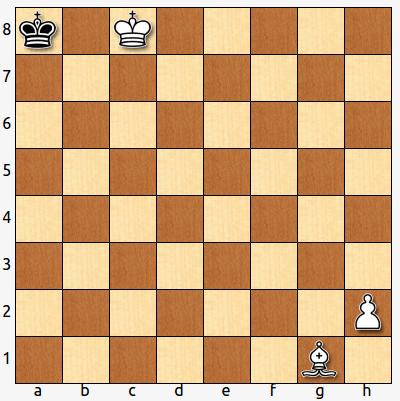 Si el negro ha sido el último en mover, ¿cuál ha sido su movimiento? ¿y el último del blanco?