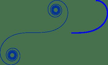 Clotoide y arco