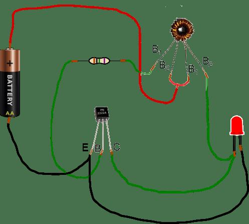 Forma de conectar los elementos del ladón de julios
