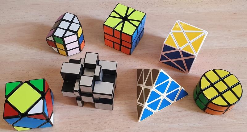 variantes del cubo