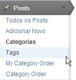 submenu tags menu posts blog wordpress