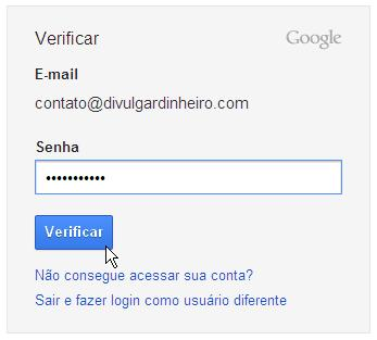 senha login google accounts