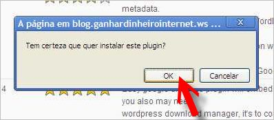confirmar instalação plugin google analytics for wordpress