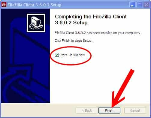 filezilla-finish