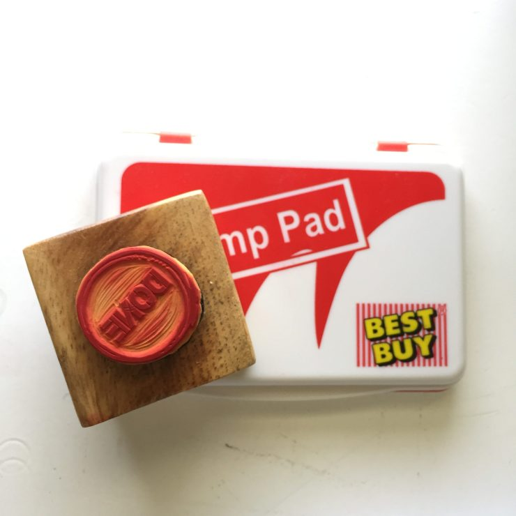 Get Things DONE: My Handmade Rubber Stamp from SqooiD
