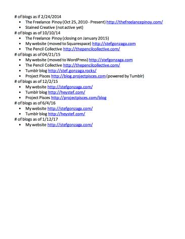 Page 2 blog audit