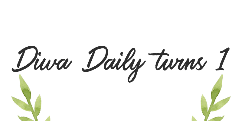 Diwa Daily turns 1 (and a bunch of other unfortunate events)