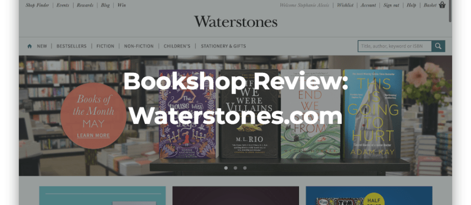 Bookshop Review: Waterstones.com
