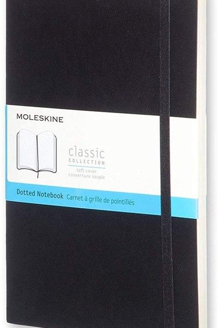 Dot Black Soft Notebook LG