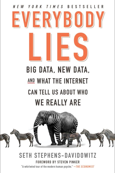 Everybody Lies Big Data, New Data, and What the Internet Can Tell Us About Who We Really Are