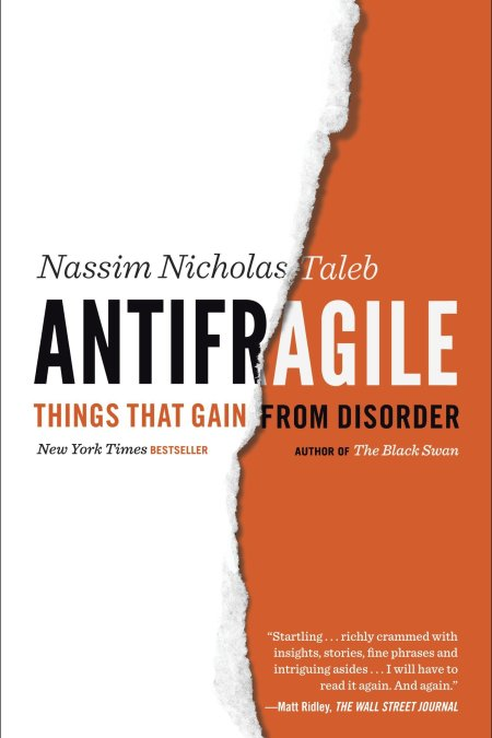 Antifragile Things That Gain from Disorder