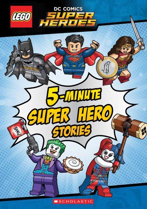 5 Minute Super Hero Stories (Lego DC Super Heroes)
