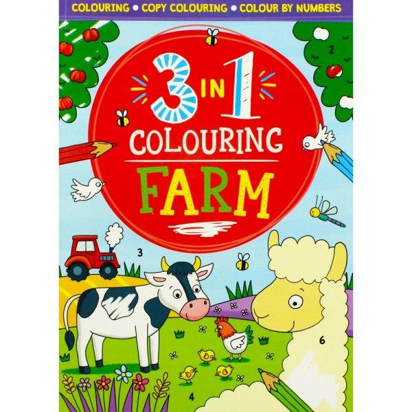 3 in 1 Colouring Farm