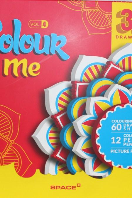 Color Me Colouring Book vol.4