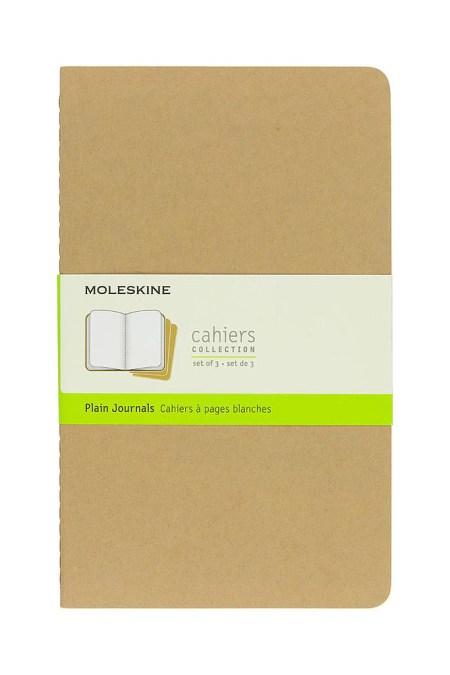 Large Plain Cahier Buff set of
