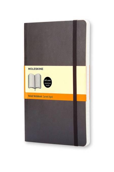 Large Ruled Soft Notebook