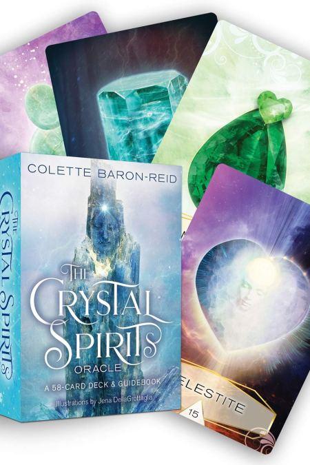 Crystal Spirits Oracle A 58-Card Deck and Guidebook