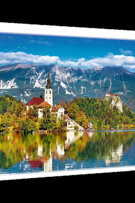 Bled Slovenia Trefl Puzzle 500 (480x340) 500 Pieces 37259