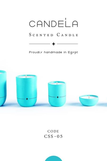Regalo Turquoise Candle
