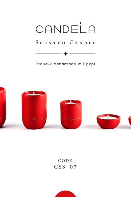 Regalo Red Candle