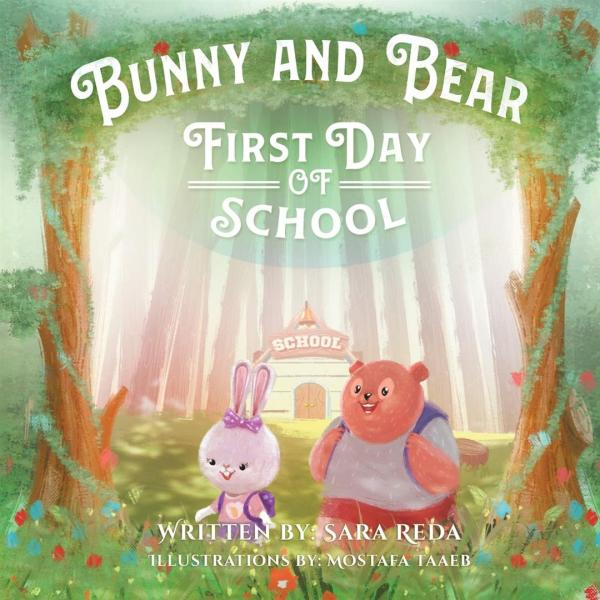 Bunny And Bear First Day of School First Day of School