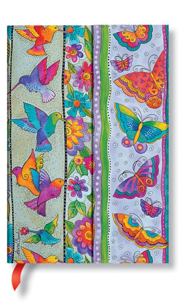 Mini Hummingbirds & Flutterbyes lined Notebook