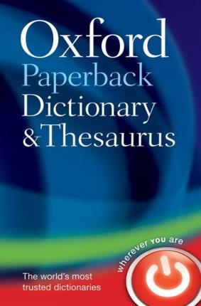 Oxford Paperback Dictionary an