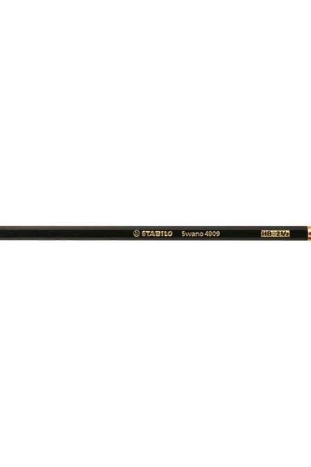 Stabilo Black Pencil with Eras