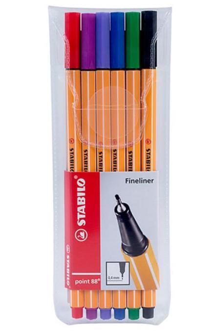 Stabilo Point 88 Pen Wallet, 6