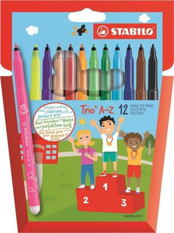 Stabilo 12 Colored Pens
