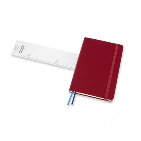 Cranberry Red Two-Go Notebook