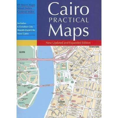 Cairo, The Practical Guide Map