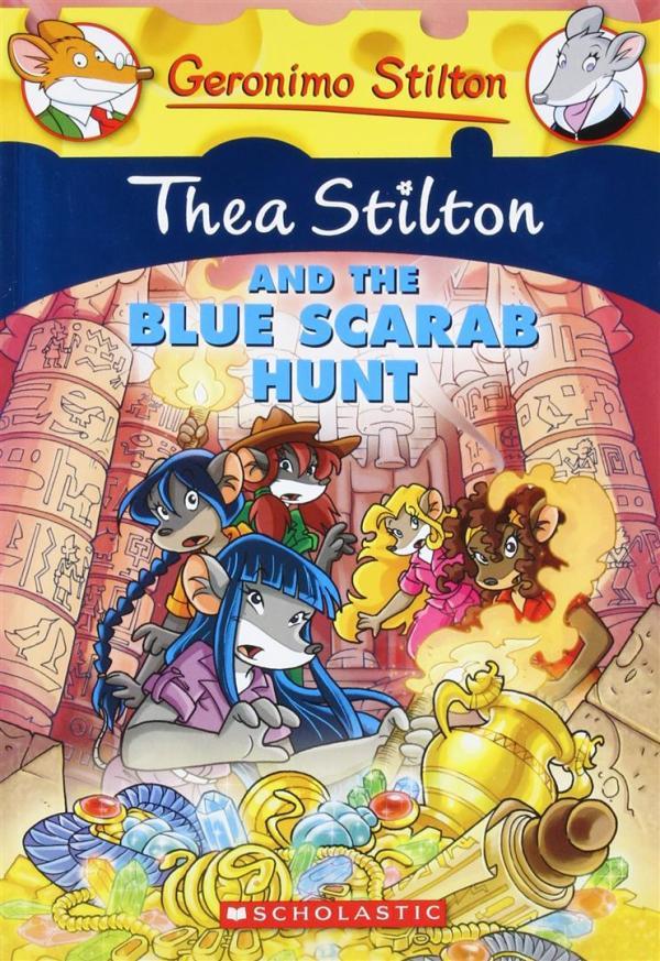 Thea Stilton and the Blue Scar