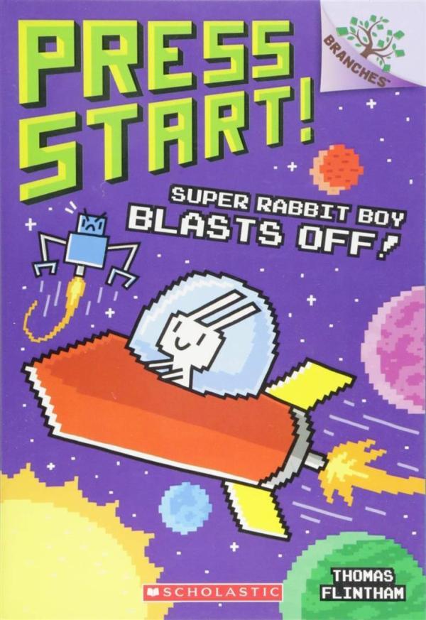 Super Rabbit Boy Blasts Off