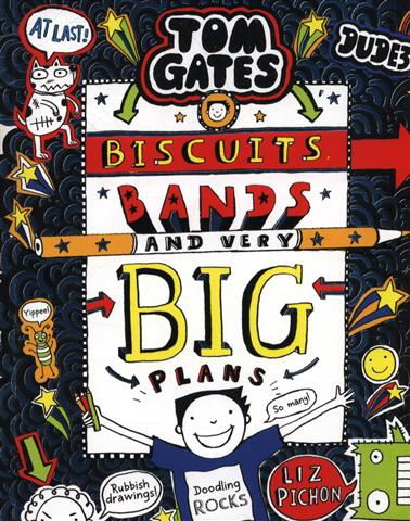 Tom Gates 14 Biscuits, Bands a