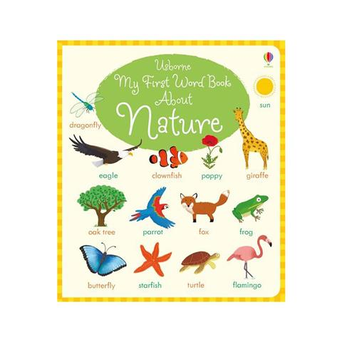 My First Word Book About Natur