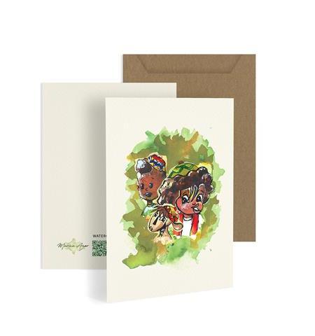 Bakar's Family Greeting Card