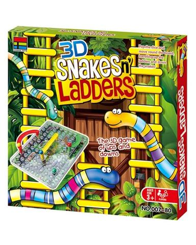 3D Snake & Ladder (Small size)