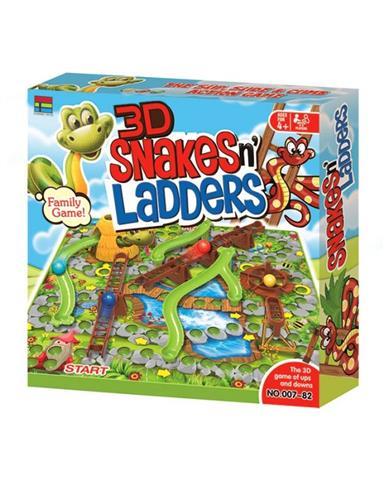 3D Snake & Ladder (Big size)